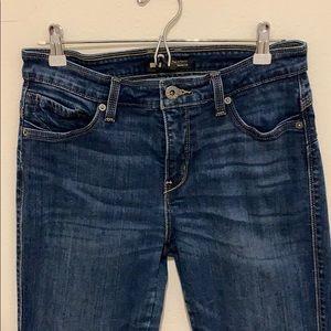 "Levi's skinny ""fit & flaunt"" jeans"
